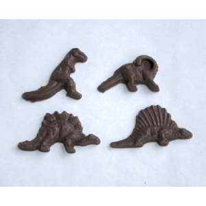 Moule à Chocolat, Assortiment Dinosaures